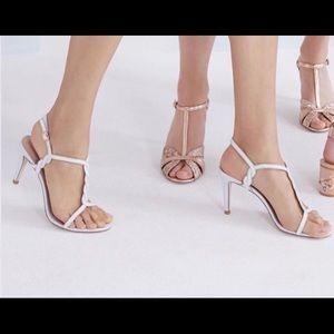 Billy Ella heels from BHLDN. Never worn, w/ box